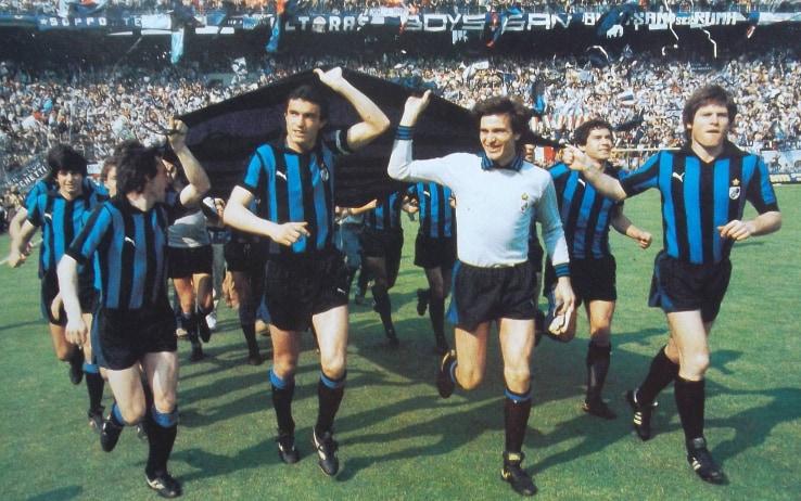 L'Inter conquista lo scudetto nel 1980