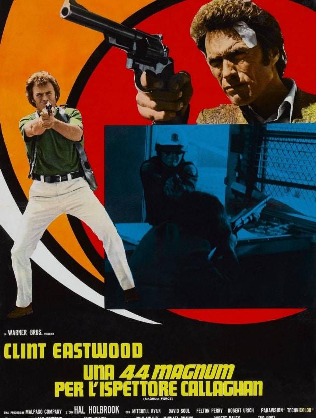 """La locandina di """"Una 44 Magnum per l'Ispettore Callaghan di Clint Eastwood"""