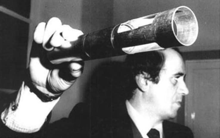 Il razzo sparato da Giovanni Fiorillo