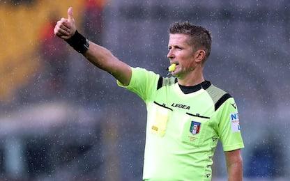 Fiorentina-Roma a Orsato: gli arbitri della 17^