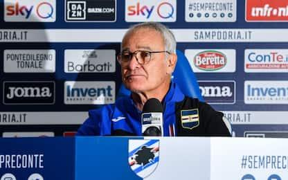 """Ranieri presenta il derby: """"Mettiamoci il cuore"""""""