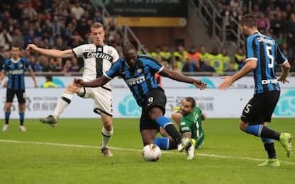L'Inter manca il sorpasso, col Parma finisce 2-2