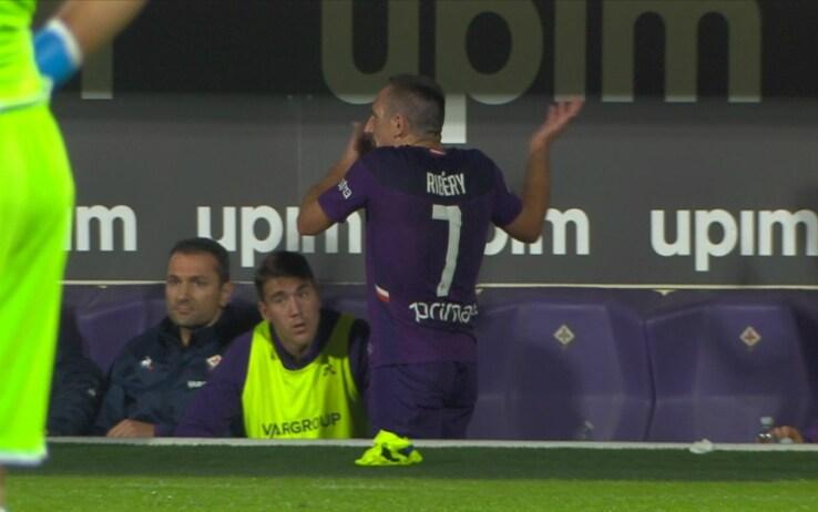 Ribery chiede spiegazioni allo staff