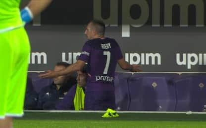 Ribery furioso per la sostituzione. VIDEO