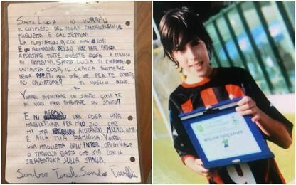 """Tonali a Santa Lucia: """"Diventerò un calciatore?"""""""