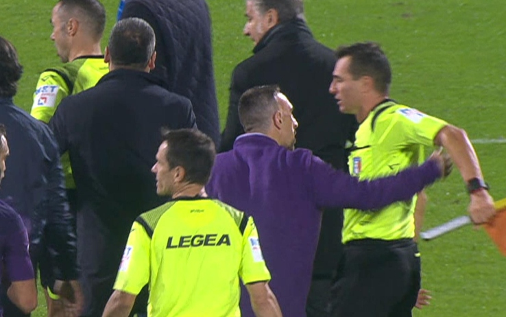 Ribery spinta al guardalinee