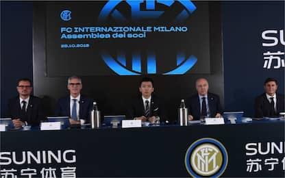 """Ricavi record, Zhang: """"Una nuova era per l'Inter"""""""