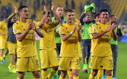 Prodezza di Lazovic, il Verona passa 1-0 a Parma