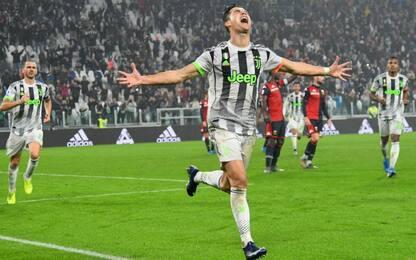 La Juve soffre col Genoa, decide CR7 al 96'