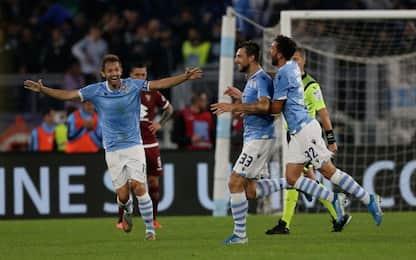 Doppio Immobile, la Lazio travolge il Torino: 4-0