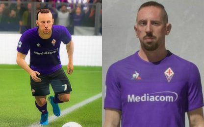 Ribery accontentato, Fifa 20 gli cambia l'aspetto