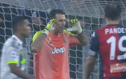 Buffon motivatore: è lui che carica la Juve. VIDEO
