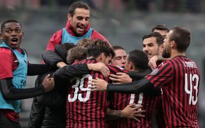 Il Milan torna alla vittoria, decide Suso