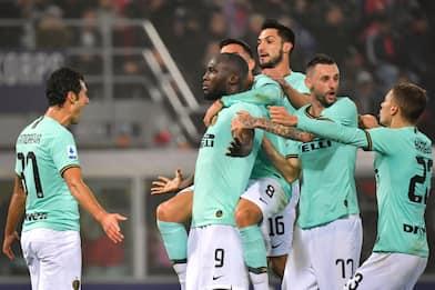 Doppio Lukaku, l'Inter ribalta il Bologna al 91'