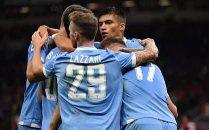 Immobile-Correa, la Lazio batte il Milan 2-1