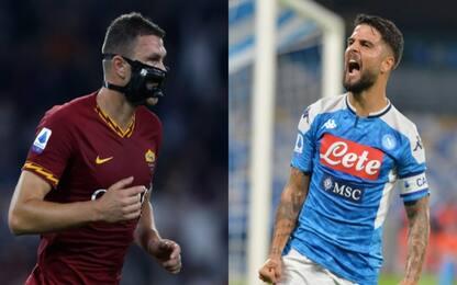 Roma-Napoli, orari e dove vedere la partita in tv
