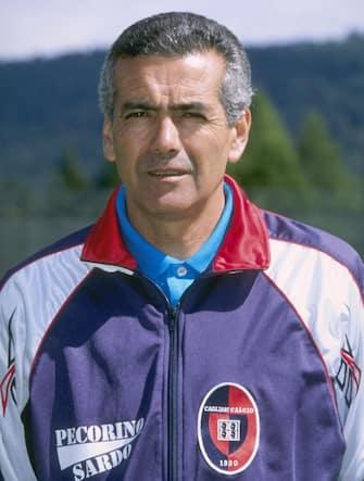 Jul 1996:  A portrait of D.T Perez of Cagliari football club. Mandatory Credit: Allsport UK