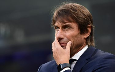 Inter Milan's Italian head coach Antonio Conte attends the Italian Serie A football match Inter Milan vs Parma on October 26, 2019 at the San Siro stadium in Milan. (Photo by Miguel MEDINA / AFP) (Photo by MIGUEL MEDINA/AFP via Getty Images)