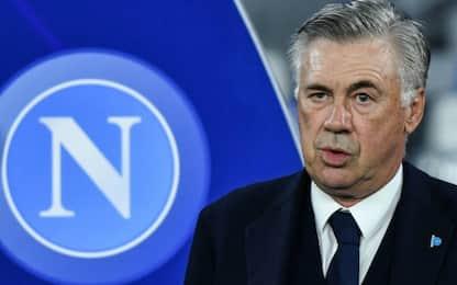 Ancelotti e il Napoli, evidenti segnali di rottura