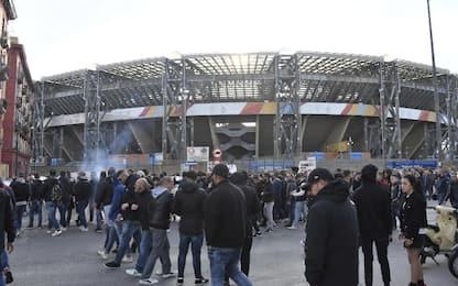 Napoli, giocatori contestati al San Paolo