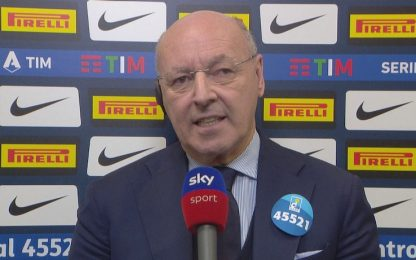 """Marotta: """"Allineati con Conte, miglioreremo rosa"""""""