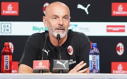 """Pioli: """"Il gruppo è il leader del Milan"""""""