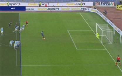 Gol annullato a Lapadula: Var ok, arbitro no