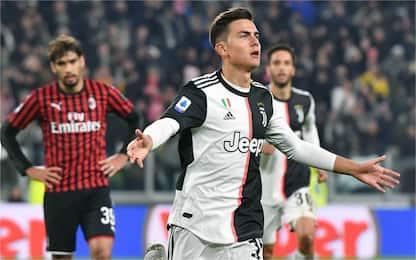Dybala punisce ancora il Milan: vince la Juve 1-0