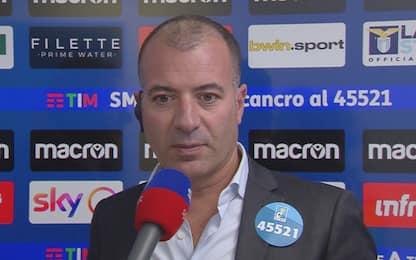 """Sticchi Damiani: """"Gol annullato? Errore clamoroso"""""""