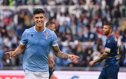 Super Correa, quattro gol della Lazio al Lecce