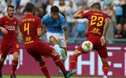 Roma-Lazio, dove vedere la partita in tv