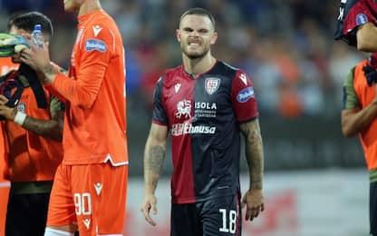 Cagliari perde Nandez: fuori almeno tre settimane