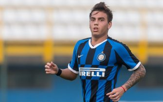 SESTO SAN GIOVANNI, ITALY - OCTOBER 23: Matias Fonseca of Inter Mailand U19 looks on during the UEFA Youth League match between Inter Mailand U19 and Borussia Dortmund U19 at Stadio Ernesto Breda on October 23, 2019 in Sesto San Giovanni, Italy. (Photo by TF-Images/Getty Images)
