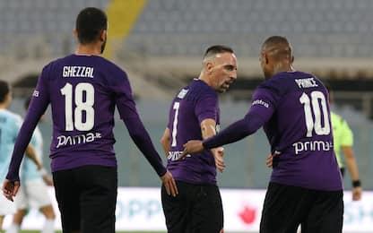 Fiorentina, 5-1 in amichevole all'Entella. I GOL