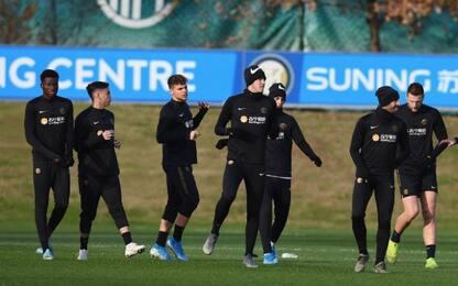 Inter al lavoro: Sensi e Asamoah puntano Slavia