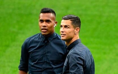 La Juve ritrova CR7, nessuna lesione per Sandro