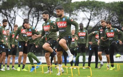 Ancelotti cambia il Napoli: col Milan ipotesi 433