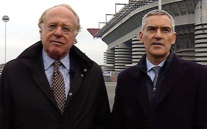 """Milan e Inter: """"Stadio? Iter sia chiaro e certo"""""""