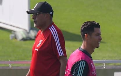 """CR7 out, Sarri: """"Obiettivo recupero per Atletico"""""""