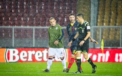 Lecce-Cagliari rinviata: si gioca oggi alle 15