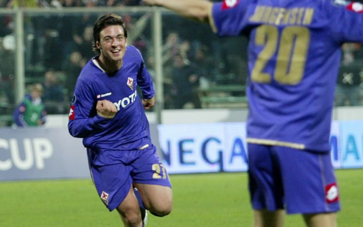 Samuel Di Carmine in gol contro l'Elfsborg in Coppa Uefa nel novembre 2007