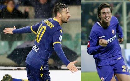 Di Carmine, primo gol in A alla sua ex Fiorentina