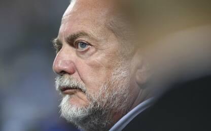 """De Laurentiis: """"Sarri mi tradì, via per soldi"""""""