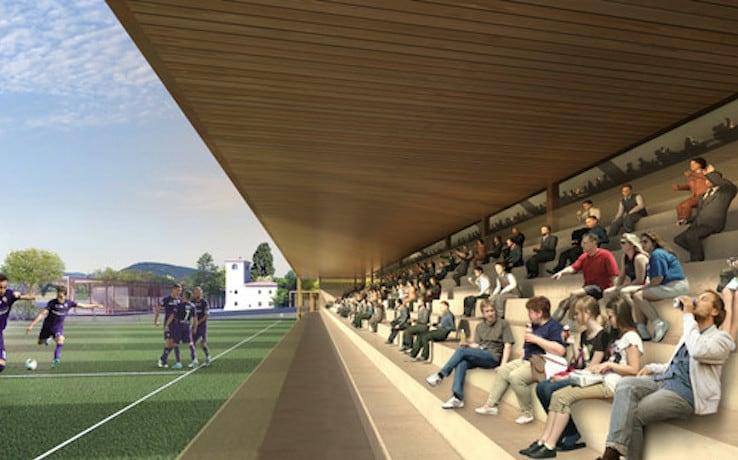 Fiorentina, le immagini del nuovo centro sportivo