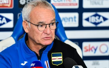 """Ranieri: """"Abbiamo ancora l'acqua alla gola"""""""