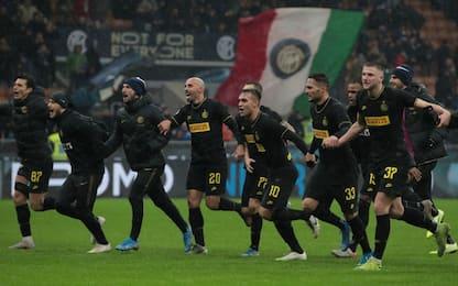 Inter, un altro record: 12 vittorie nelle prime 14
