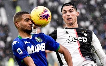 Il Sassuolo ferma la Juve: 2-2 allo Stadium