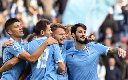 Doppio Immobile, 3-0 show della Lazio sull'Udinese
