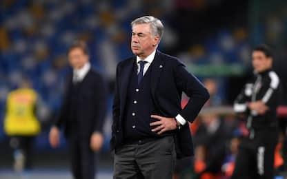 """Ancelotti: """"Momento molto negativo e delicato"""""""