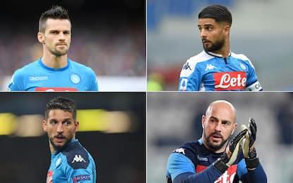 Napoli, chi ha giocato di più negli ultimi 10 anni